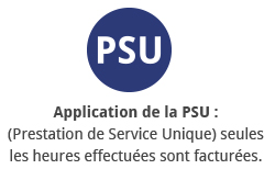 Application PSU Le lézard bleu
